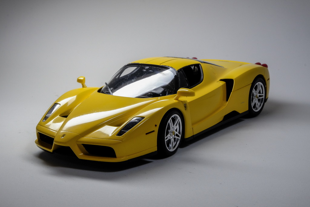 tamiya 1 24 enzo ferrari yellow out there