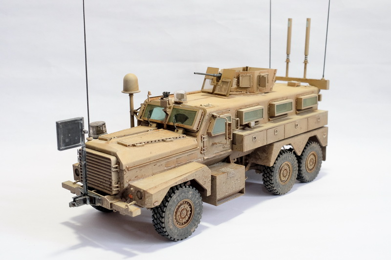 1 35 meng model u s cougar 6 x 6 mrap vehicle out there