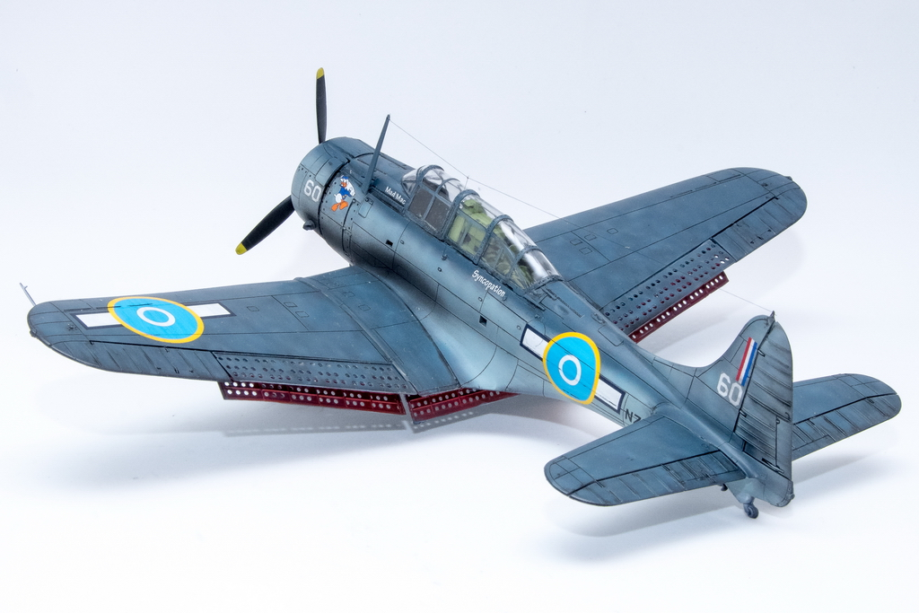 Italeri SBD Dauntless 1/48