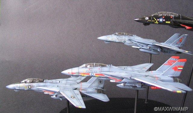 Dragon 1/144 F-14A Tribute