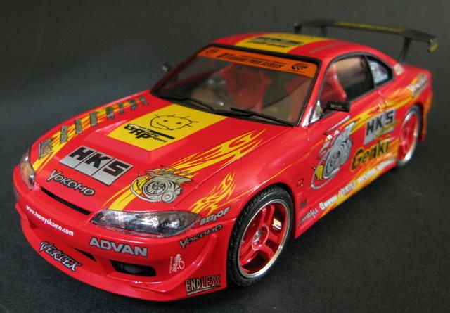 1/24 Aoshima HKS Hiper Silvia RS-2