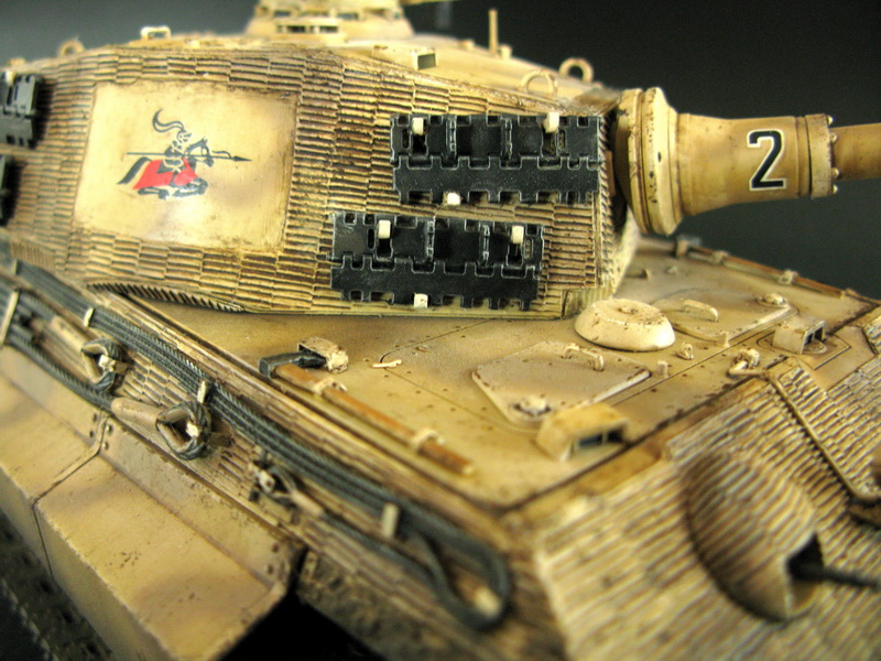 "Tamiya 1/35 King Tiger ""Charging Knight"""