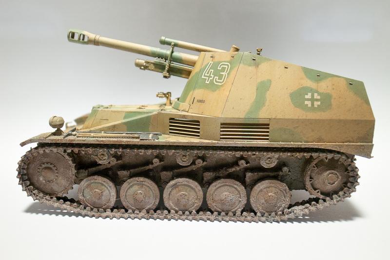 Tamiya 1/35 Wespe Tank