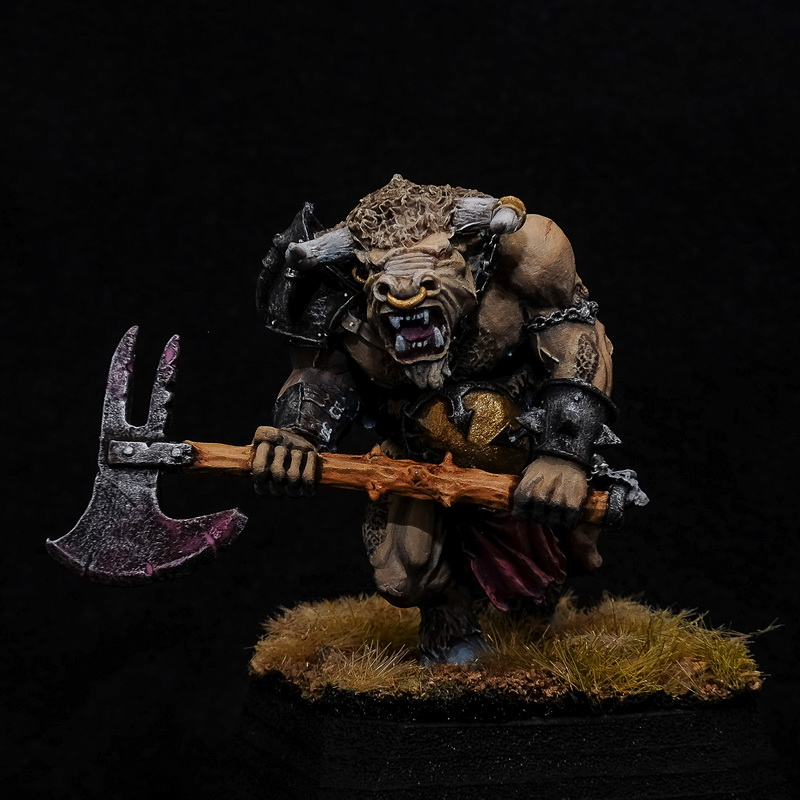 Minotaur Lord with Great Weapon