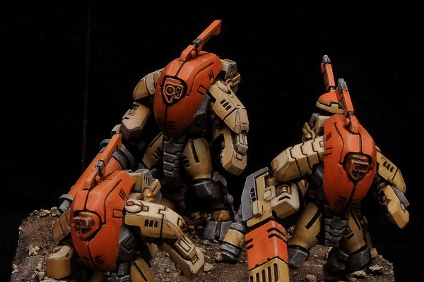 Desert Tau Stealth Armour