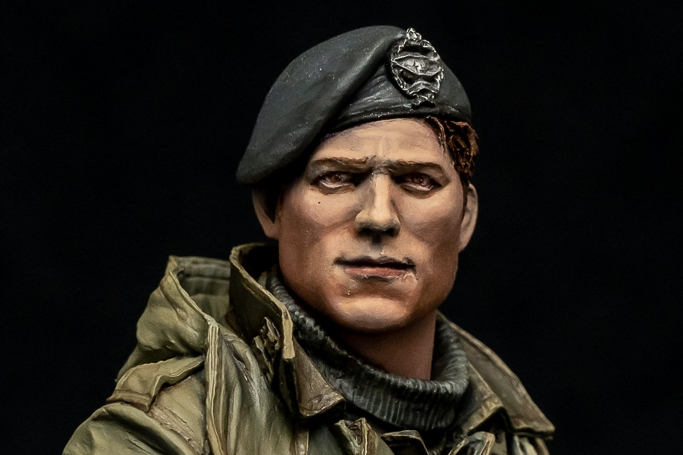 Young Miniatures British Tank Crew WWII